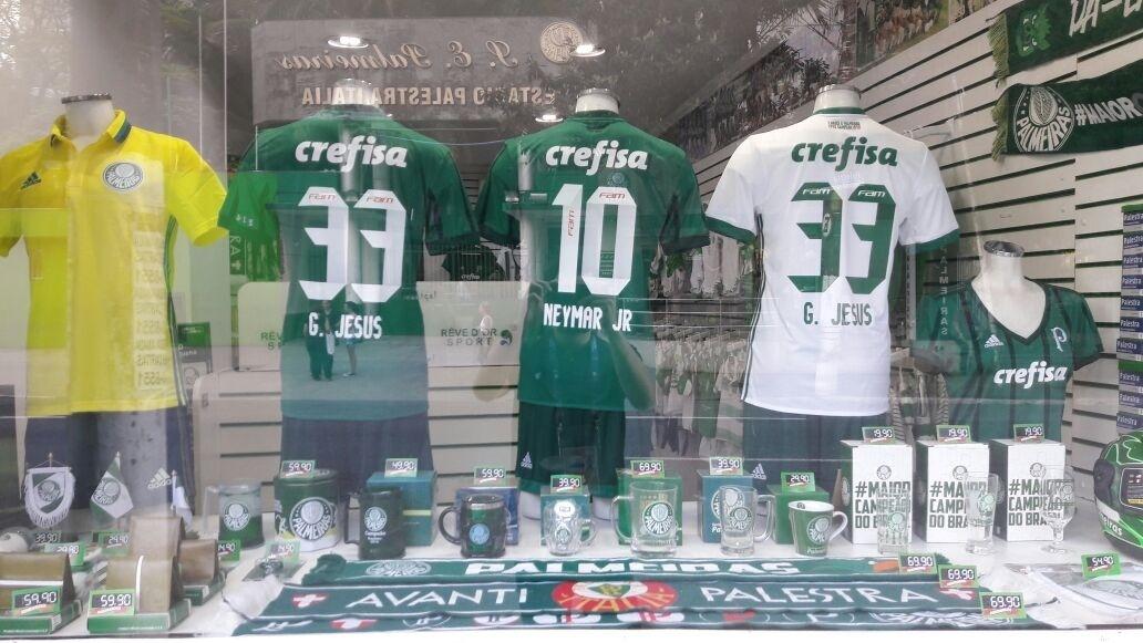 Loja não-oficial do Palmeiras estampa