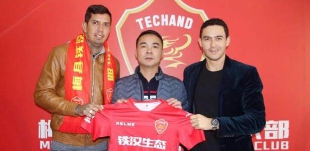 Zagueiro ex-Vitória e Chape está sem clube após deixar o Meizhou Meixian, da China - Reprodução/Twitter
