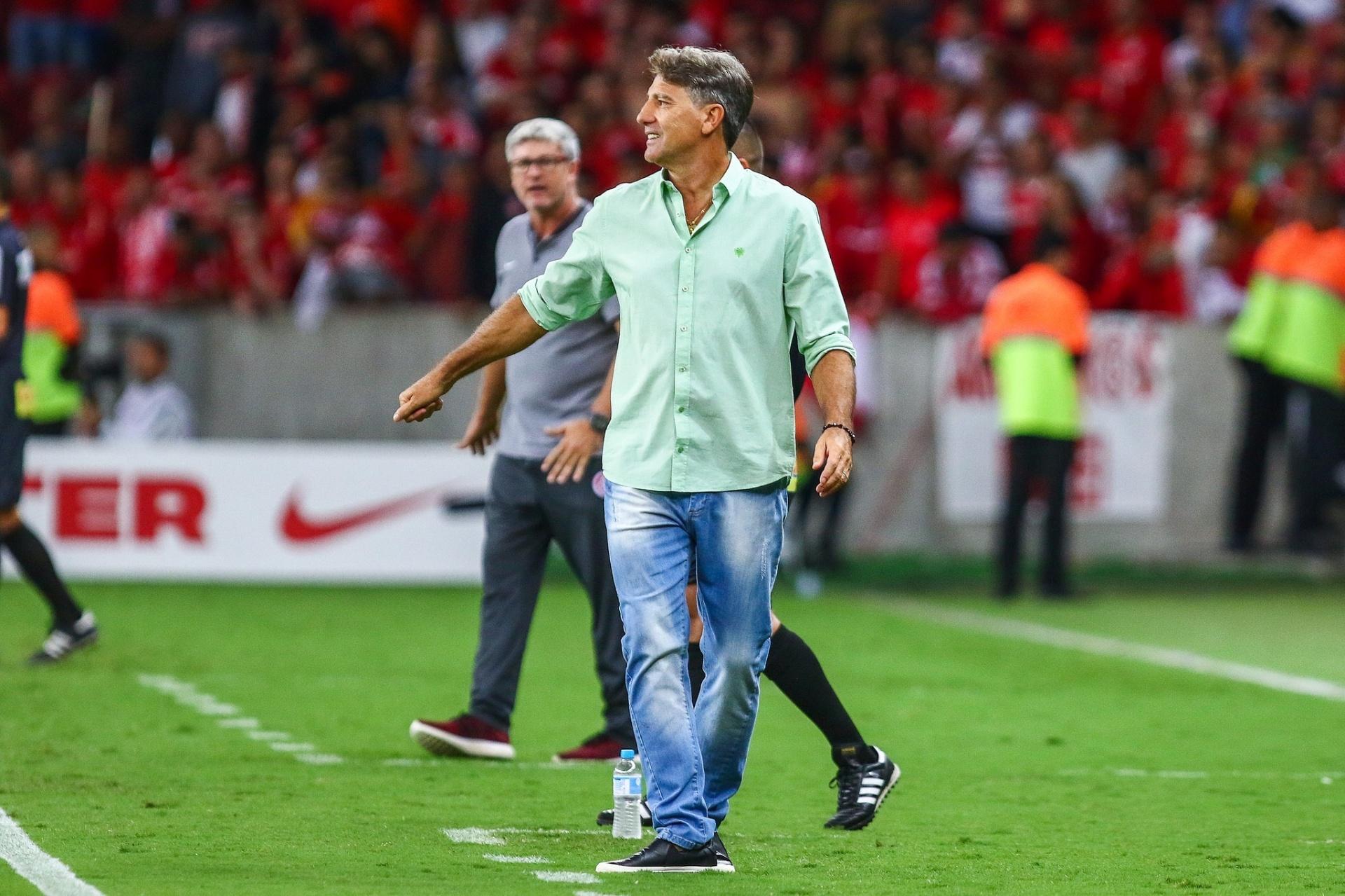 75b5d701c2 Renato justifica confusão com provocações do Inter