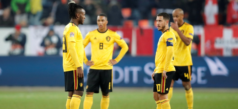 Bélgica sofreu uma virada extremamente surpreendente e acabou eliminada da Liga das Nações - Arnd Wiegmann/Reuters