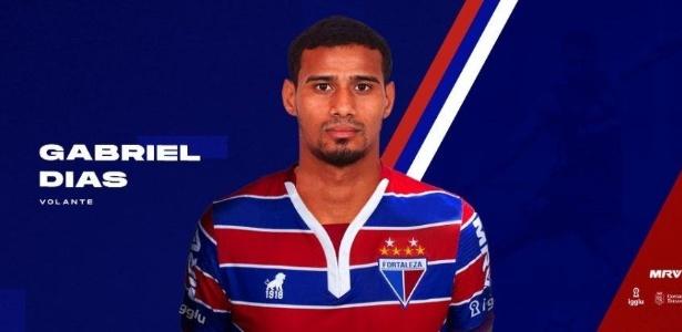 Gabriel Dias é anunciado pelo Fortaleza após rescindir contrato com Inter - Reprodução