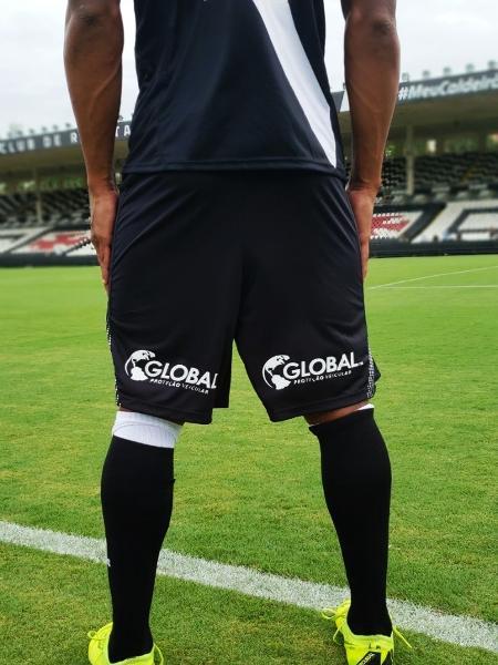 Global CBB estampará marca no short do Vasco até o fim de 2019 - Roberto Rosendo/Vasco.com.br