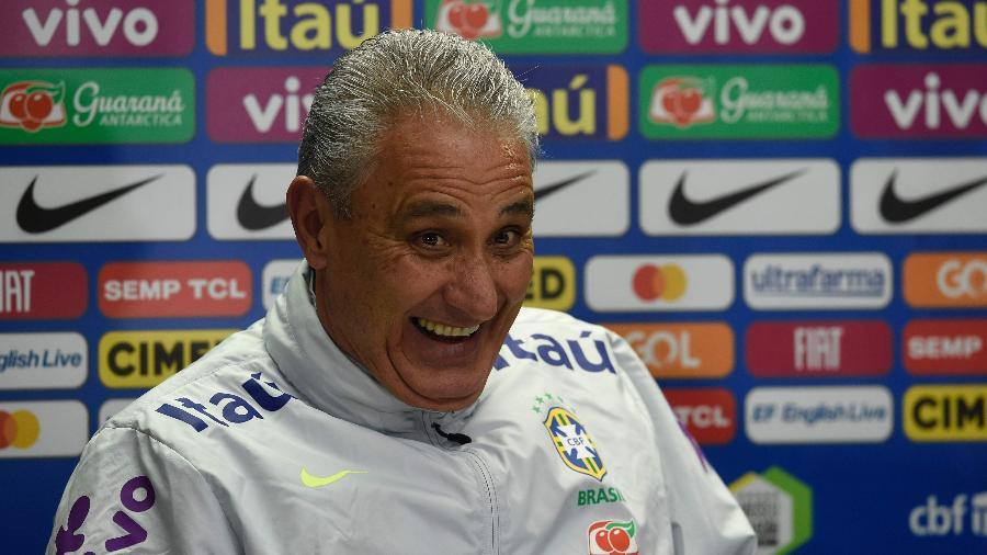 Técnico vai anunciar lista de convocados para a Copa América na manhã de amanhã, na CBF - Michal CIZEK / AFP