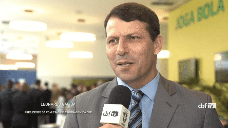 Leonardo Gaciba, chefe da Comissão de Arbitragem da CBF - reprodução/CBF