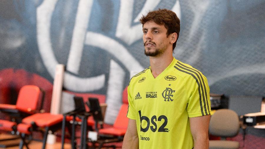 Rodrigo Caio treina com o Flamengo - Alexandre Vidal / Flamengo