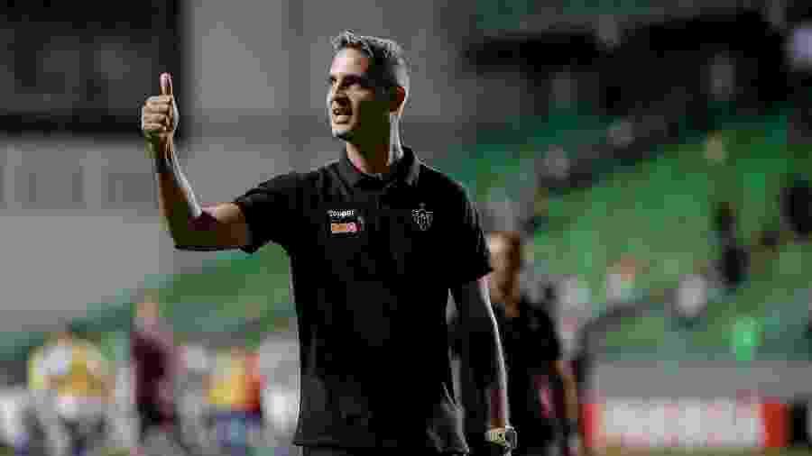 Botafogo não tem pressa, mas sondou situação de Rodrigo Santana para a vaga de Valentim - Bruno Cantini/Atlético-MG