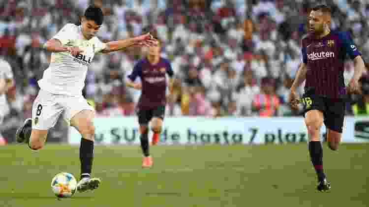 Jordi Alba lateral do Barcelona - Jose Jordan/AFP - Jose Jordan/AFP