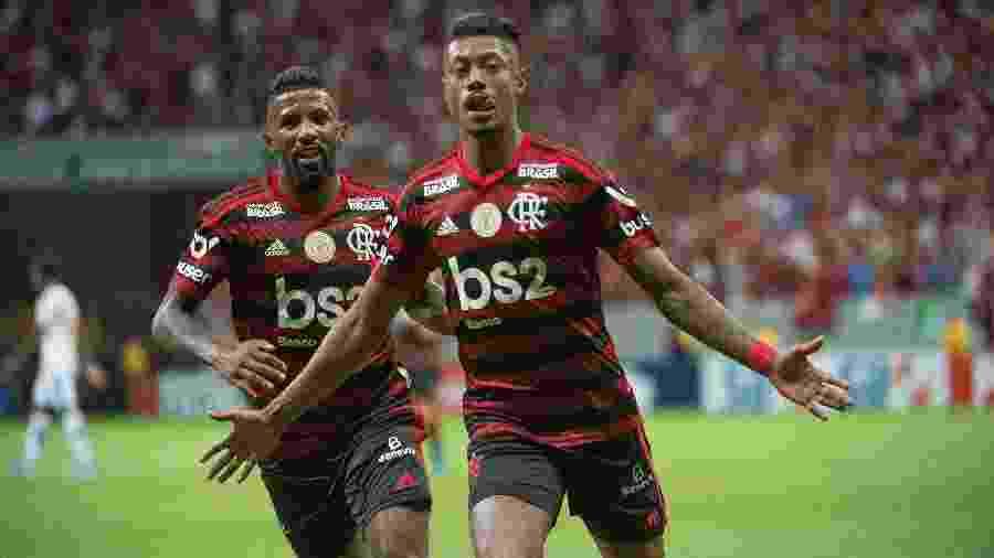 Flamengo fez 4 a 1 para cima do Vasco e assume a segunda posição do Brasileirão - Alexandre Vidal / Flamengo