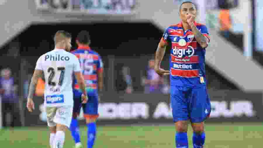 Fortaleza vem de um empate heroico na Vila Belmiro - HENRIQUE BARRETO/FUTURA PRESS/FUTURA PRESS/ESTADÃO CONTEÚDO