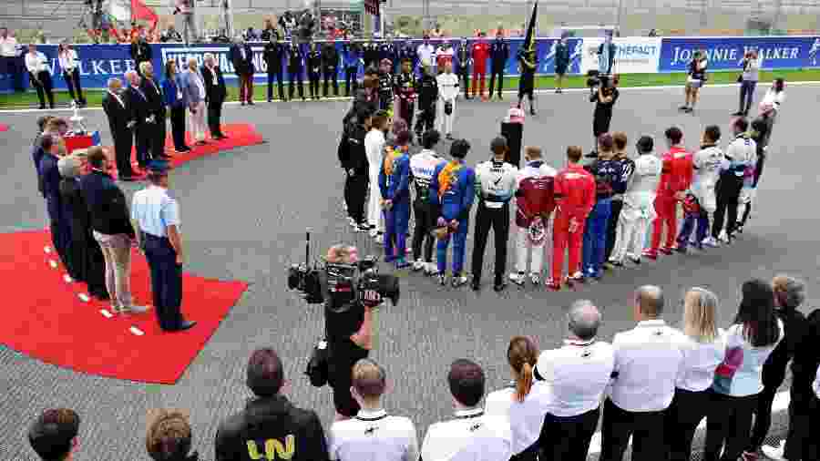 Anthoine Hubert é homenageado na Fórmula 1 - Getty Images