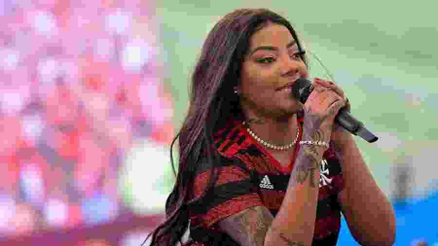 Ludmilla se apresenta no Maracanã - Thiago Ribeiro/AGIF