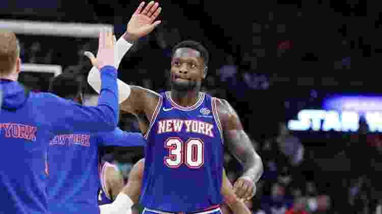 Knicks, com Julius Randle (foto) como um dos destaques, estão longe de voltar aos playoffs em 2020 - Sergio Estrada/USA Today