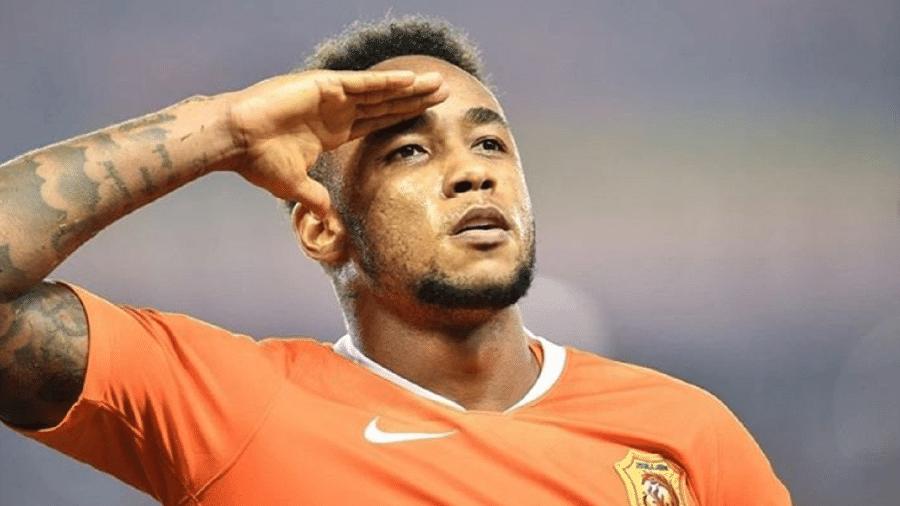 Rafael Silva, atacante do Wuhan Zall FC - Divulgação/Wuhan Zall