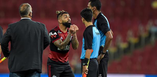 Fla se vê de mãos atadas e não enxerga meios de anular expulsão de Gabigol – UOL Esporte