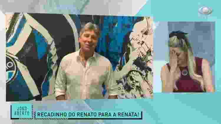 Renato gaúcho - Reprodução/Band - Reprodução/Band
