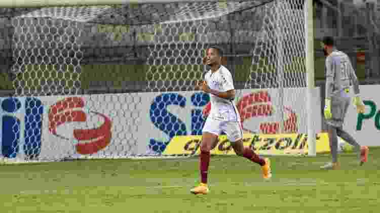 Caio Paulista marcou seu primeiro gol como profissional no empate entre Fluminense e Atlético-MG - Alessandra Torres/AGIF - Alessandra Torres/AGIF