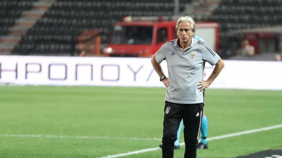 Com série de tropeços, Jorge Jesus sofre com avalanche de críticas no Benfica - Divulgação