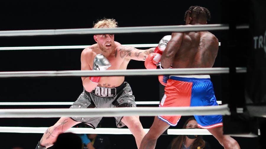 Jake Paul venceu Ben Askren e já motivou outro desafio - Joe Scarnici/Handout Photo via USA TODAY Sports