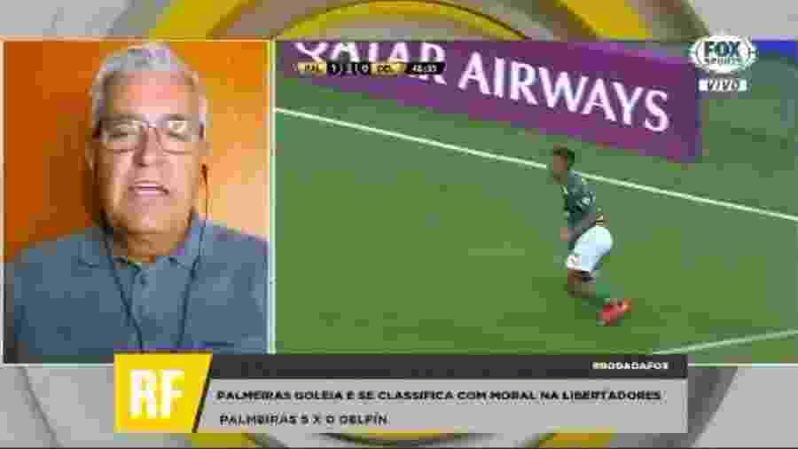 Mauro Naves aposta em Palmeiras finalista na Libertadores - Reprodução/Fox Sports