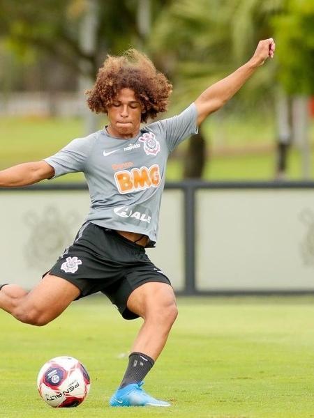 Guilherme Biro, meio-campista do Corinthians - Rodrigo Coca/Corinthians