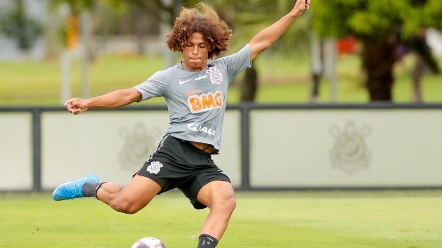 Guilherme Biro, lateral do Corinthians - Rodrigo Coca/Corinthians