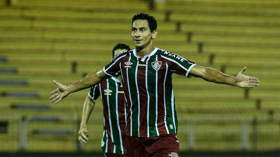 Paulo Henrique Ganso fechou o placar na goleada do Fluminense sobre o Macaé - Lucas Merçon/Fluminense FC