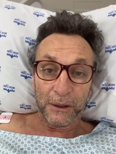 Neto, apresentador, da TV Band, se recupera de cirurgia na coluna - Reprodução/Instagram