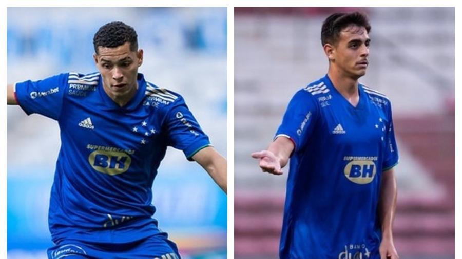 Matheus Pereira e Weverton ocupam vaga no time titular e deixam experientes na reserva  - Bruno Haddad/Cruzeiro