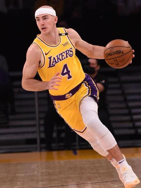 Alex Caruso, jogador do LA Lakers - Reprodução/Instagram