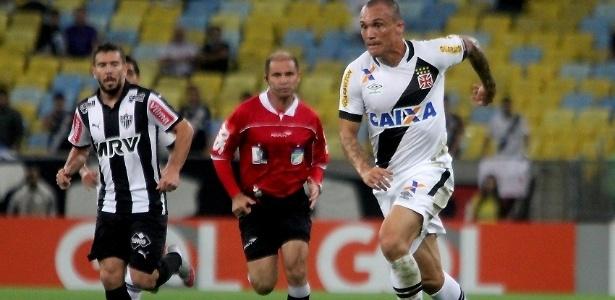 Leandrão fez um gol e disputou 11 jogos pelo Vasco em 2015