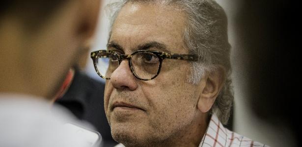 O ex-presidente do São Paulo Carlos Miguel Aidar