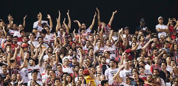 Torcida do São Paulo lotou o Morumbi nos dois últimos jogos da Libertadores, contra River e Toluca