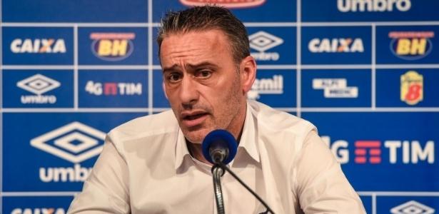 Treinador português assinou contrato com o Cruzeiro até dezembro de 2017