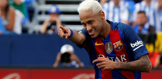 Neymar assumiu o protagonismo do Barcelona sem Messi