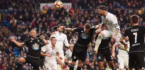 Sergio Ramos e os acréscimos: uma história longa que já salvou o Real algumas vezes