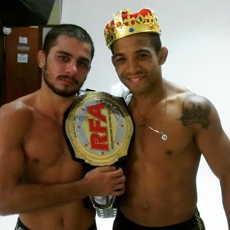 Alexandre Pantoja e José Aldo Junior - Reprodução/Facebook