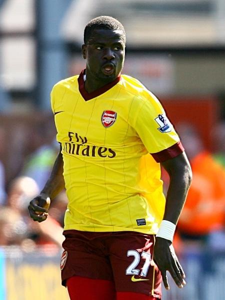 Pelo Arsenal, Eboué esteve em campo na final da Liga dos Campeões de 2006 - Getty Images