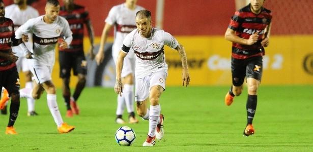 Clube gaúcho foi eliminado pelo Vitória na Copa do Brasil, mas venceu no Barradão - Ricardo Duarte/SC Internacional