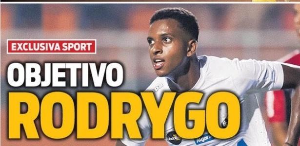 Jornal Sport afirma que Barcelona tem interesse em Rodrygo