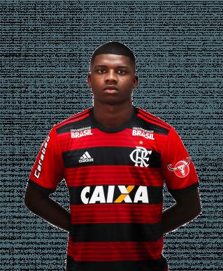 Lincoln Correa dos Santos, atacante do Flamengo