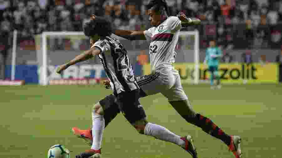 Atlético-MG venceu Flamengo por 2 a 1 no jogo de ida do Campeonato Brasileiro - Thomas Santos/AGIF