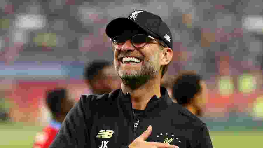 Jurgen Klopp está perto de conquistar o Campeonato Inglês com o Liverpool - Francois Nel/Getty Images