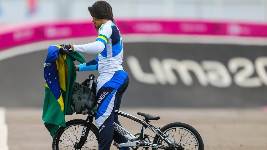 Paola Reis foi prata no Pan - Abelardo Mendes Jr/Rede do Esporte