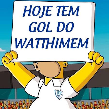 No Instagram, Ji-Paraná comemora gol de Whatthimem - Reprodução/Instagram
