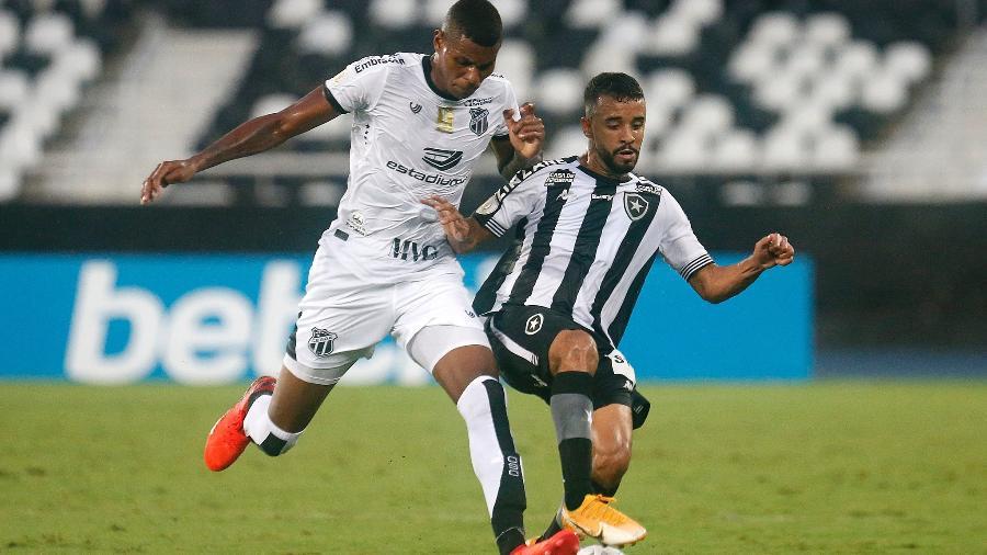 Botafogo x Ceará, no Nilton Santos, pelo primeiro turno do Brasileiro de 2020 - Vitor Silva/Botafogo