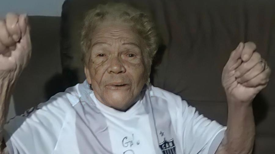 Atleticana fanática, Dona Iracema completá 105 anos em novembro - Arquivo Pessoal