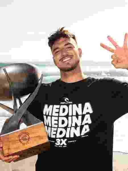 Gabriel Medina, tricampeão mundial de surfe - WSL - WSL