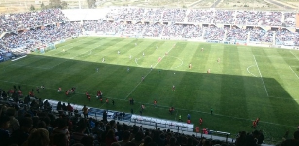 Mais de 20 mil pessoas foram ao último jogo do Recreativo Huelva