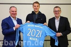 Neuer chegou ao time de Munique em 2011. Aos 30 anos, ele não pensa em parar tão cedo