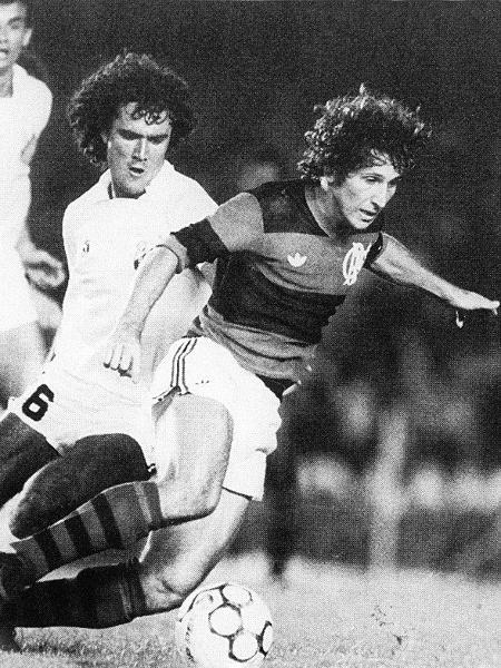 Emissora paulista vai reprisar bi brasileiro do Flamengo em 1983, contra o Santos